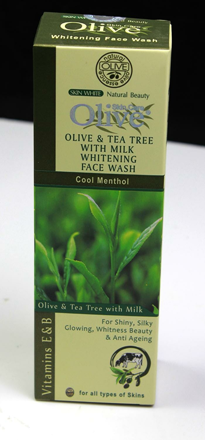 Olive Natural Olive With Milk Whitening Face Wash 120g Best Face Wash in Pakistan