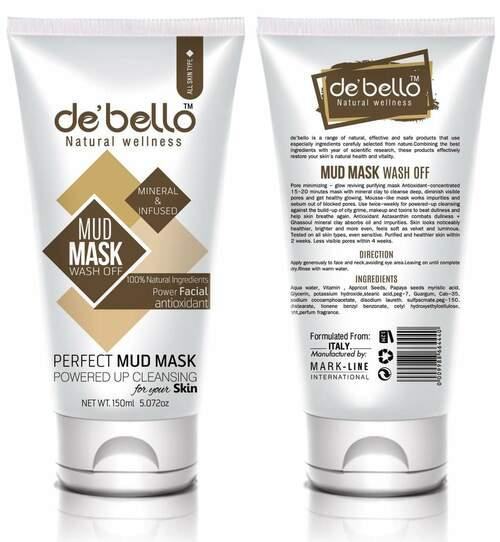 De'bello Charcoal Face Wash 150ml Best Face Wash in Pakistan