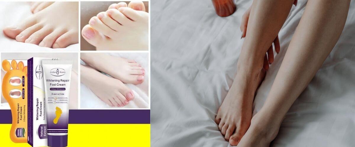 Best Foot Whitening Creams in Pakistan