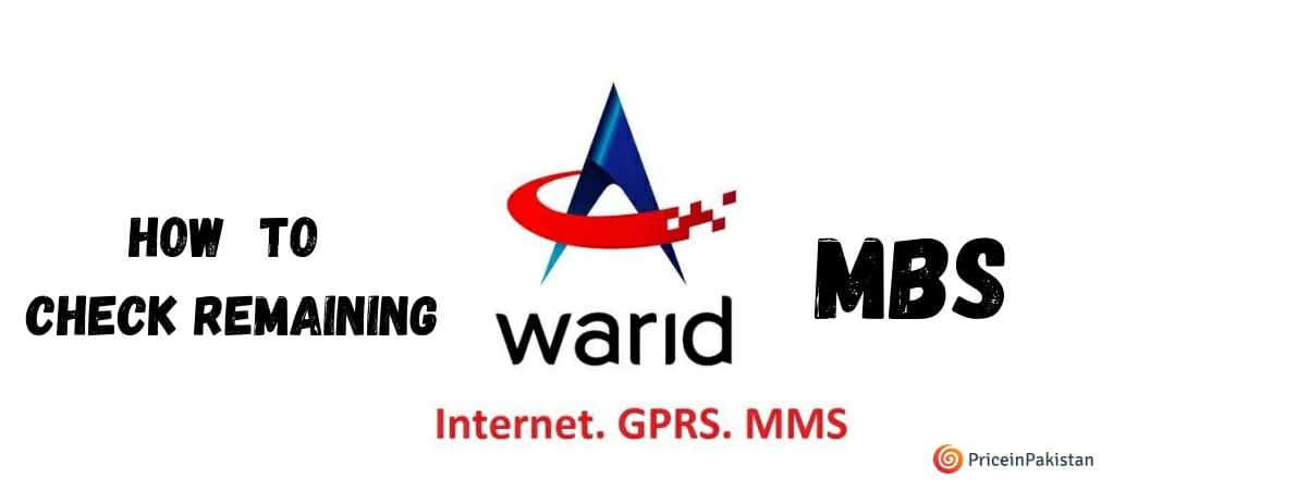 Warid Mb Check Code